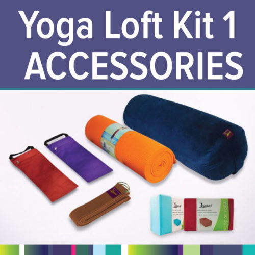 The package is a simple, affordable way to get exactly what you need to get started. Use code 'AVITA' for a Yoga Loft materials discount.