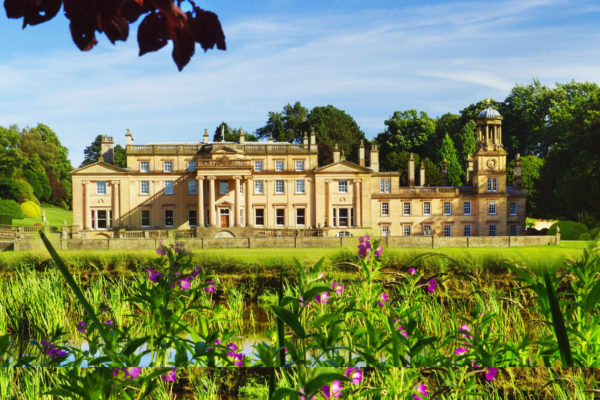 Broughton Hall in the Summer