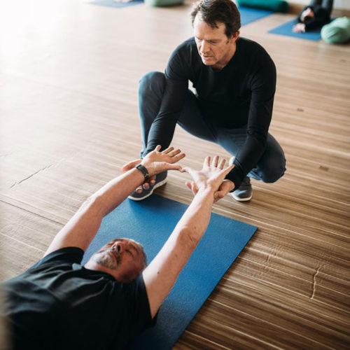 Workshop with Jeff Bailey Founder of Avita Yoga - The Healing Physiology of Avita Yoga