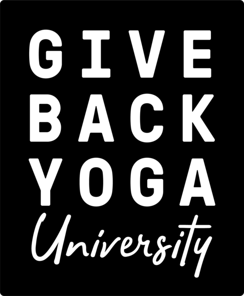 Give Back Yoga University