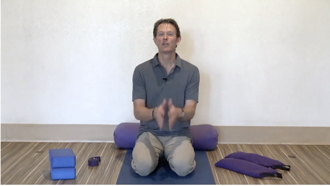 Founder, Jeff Bailey invites you to the Avita Yoga practice for every one